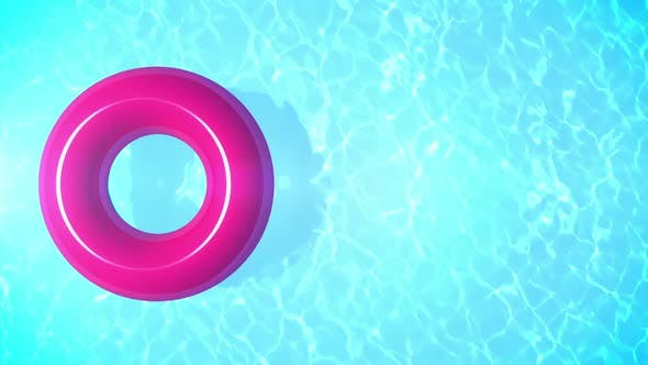 Swimming Pool Summer Background