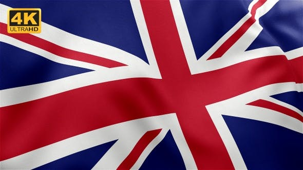Thumbnail for UK Flag / United Kingdom Flag - 4K