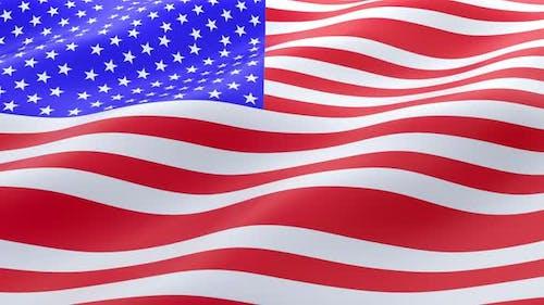 Nationalflagge Amerikas