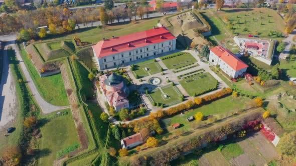 Thumbnail for Aerial View Drone Video of Zolochiv Castle in Lviv Region, Ukraine