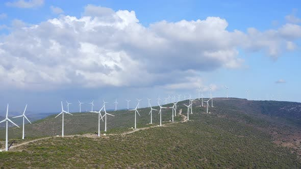 Thumbnail for Wind Turbines Spinning 19