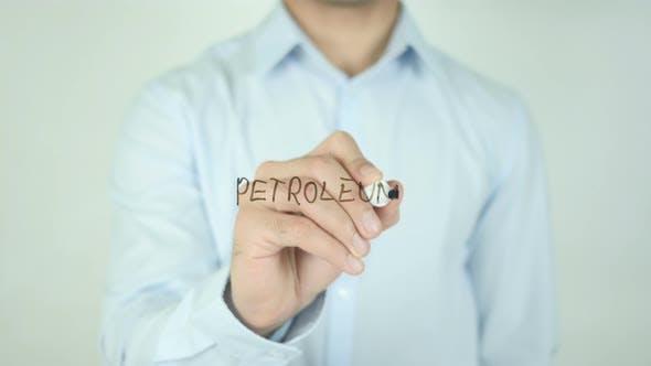 Petroleum, Writing On Screen
