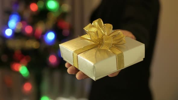 Thumbnail for Giving Christmas Gift Box