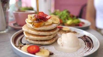 Sweet American Breakfast