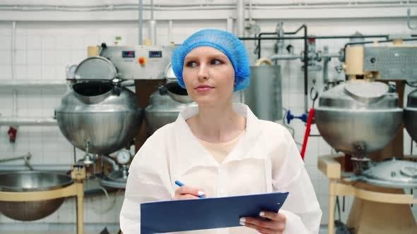 Controller Checking Confection Factory