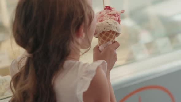 Girl Eating Ice-cream