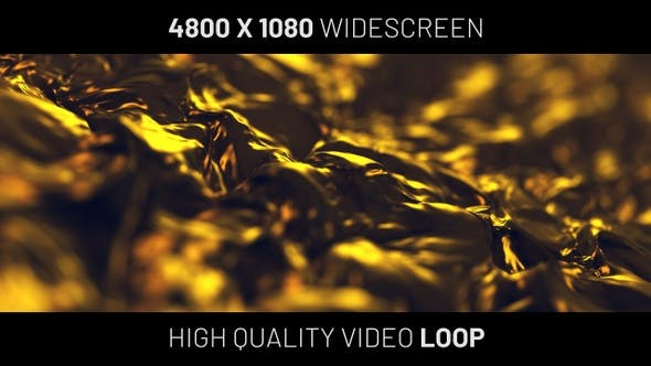 Thumbnail for Gold Silk Widescreen Background