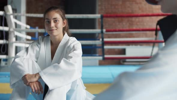 Thumbnail for Portrait of Young Female Judoka