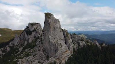 Lady's Stones Drone Shot, Romania