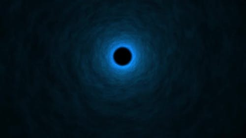 Blue Tunnel Disperse 4k