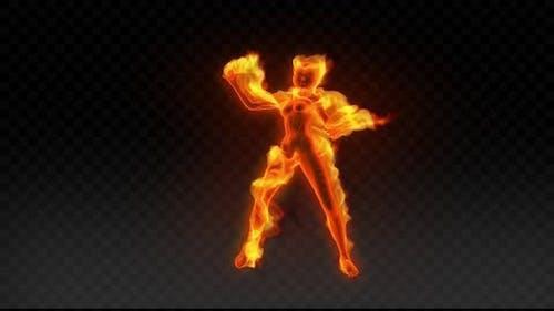 Fiery Girl Dance 3
