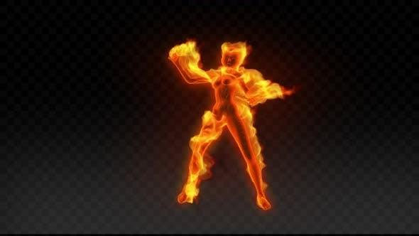 Thumbnail for Fiery Girl Dance 3