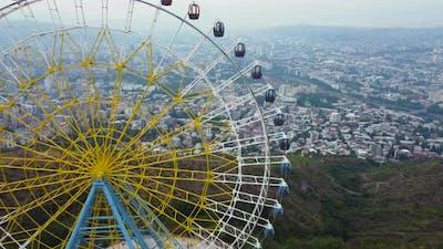 Ferris Wheel On The Hill
