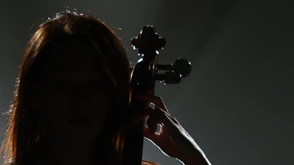 Thumbnail for Girl Plays a Cello on a Musical Instrument