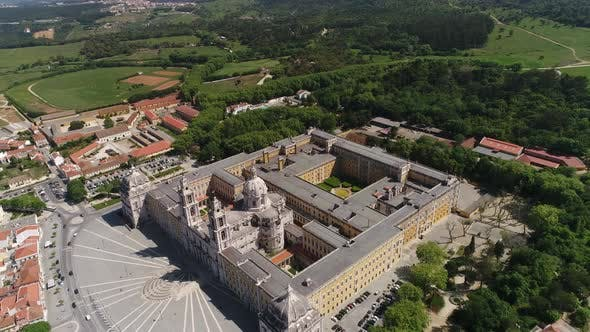 Thumbnail for Mafra Convent Aerial View