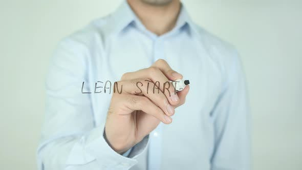 Thumbnail for Lean Startup, Writing On Screen