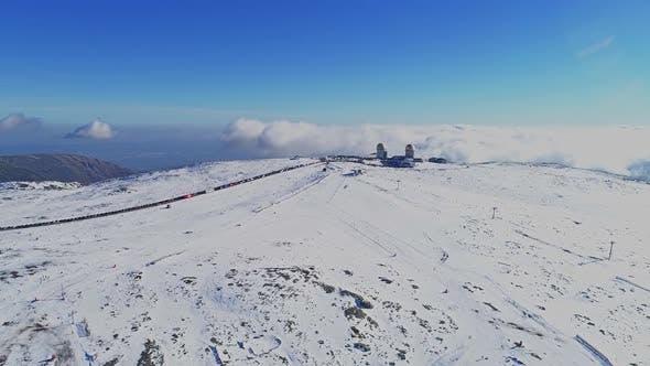 Cover Image for Ski Resort of Serra da Estrela in Portugal