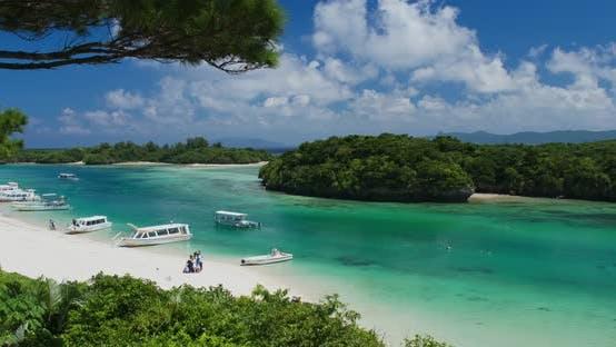 Thumbnail for Kabira Bay in ishigaki island of Japan