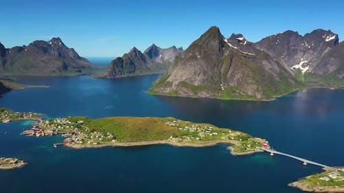 Reine Lofoten Is an Archipelago in the County of Nordland, Norway