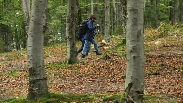 Thumbnail for Couple Use Trekking Poles