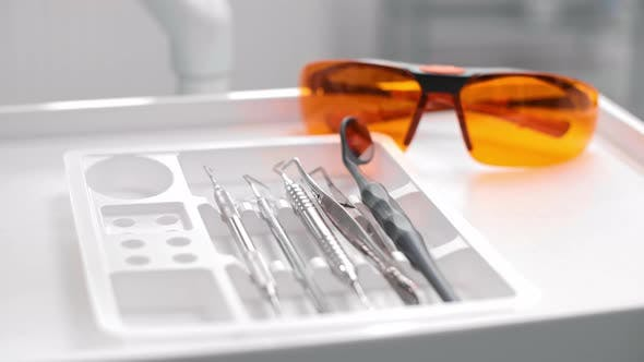 Thumbnail for Basic, dental equipment in dentist's office