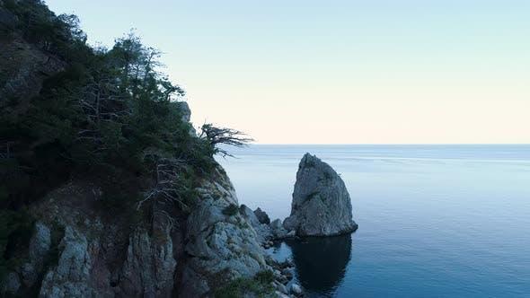 Thumbnail for Sea Coast With Rocky Massif