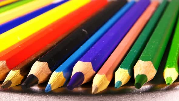 Thumbnail for School Education Tools Colorful Pencils