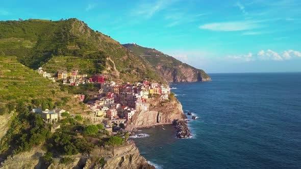Thumbnail for Aerial View of Cinque Terre Five Lands
