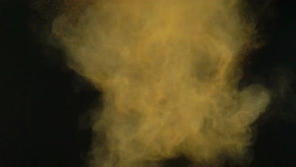 Thumbnail for Orange Powder Paint Explodes
