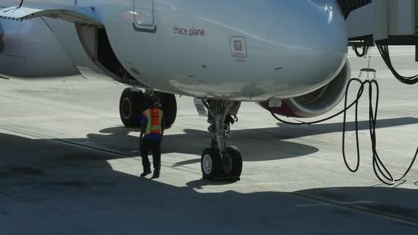 Flugzeuginspektion