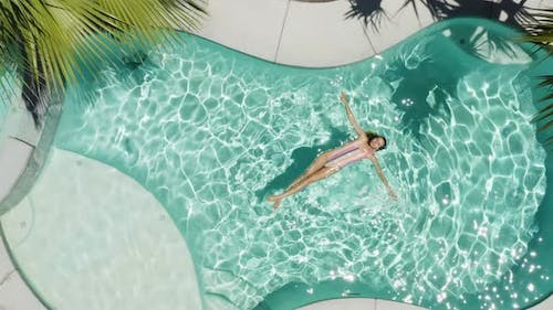 Relax In The Pool