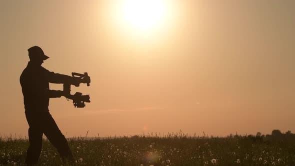 Camera Gimbal DSLR Video Production