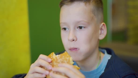 Cover Image for Boy in a Fast Food Cafe