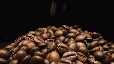 Falling Coffee Bean