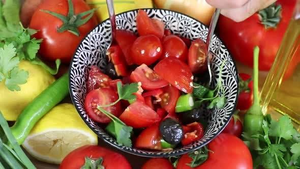 Thumbnail for Making Salad