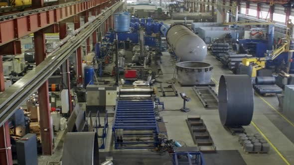Thumbnail for Manufacturing Process on Compressor Factory