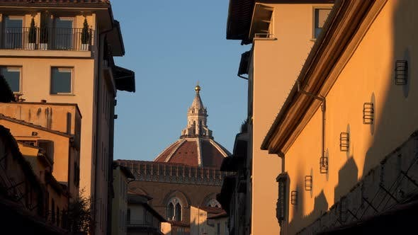 Thumbnail for Dome of Cattedrale di Santa Maria del Fiore at Sunset