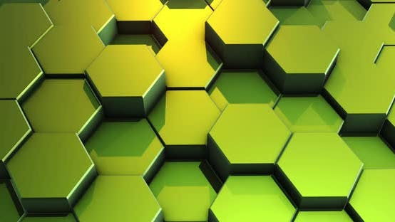 Thumbnail for Loop Abstract Colorful Hexagon Honeycomb Background