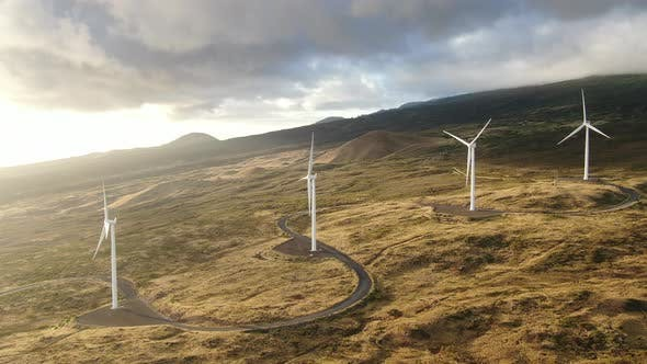 Cover Image for Wind Turbines Power Plant