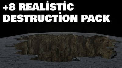 Realistic Wall Destruction Pack