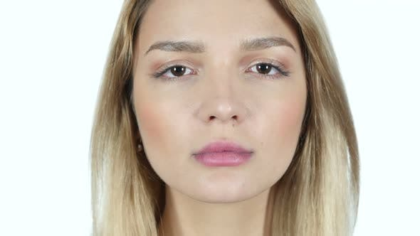 Cover Image for Young Woman Face