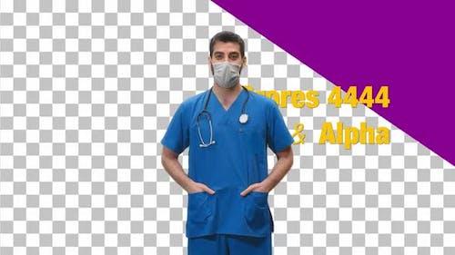 Male Doctor or Nurse