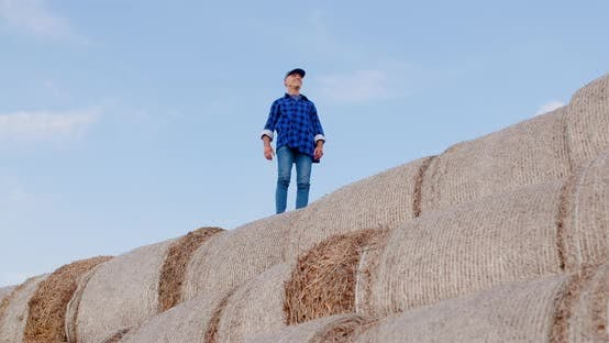 Thumbnail for Portrait of Successful Farmer Agribusiness