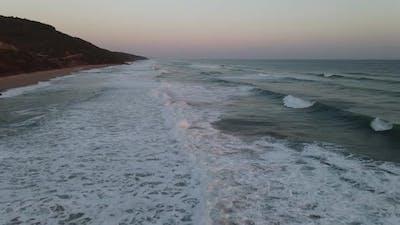 Crashing Wave Foamy White Texture