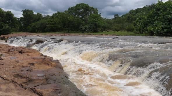 Stream from the Farako falls