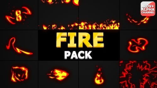 Fire Pack | Motion Graphics