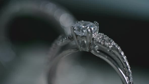 Thumbnail for Diamond Engagement Rings in Luxury Jewelry Store