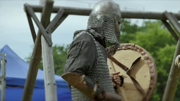 Thumbnail for Medieval soldiers fighting