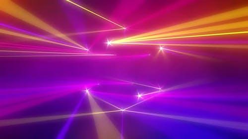 Laser-Konzert-Hintergrund 4K