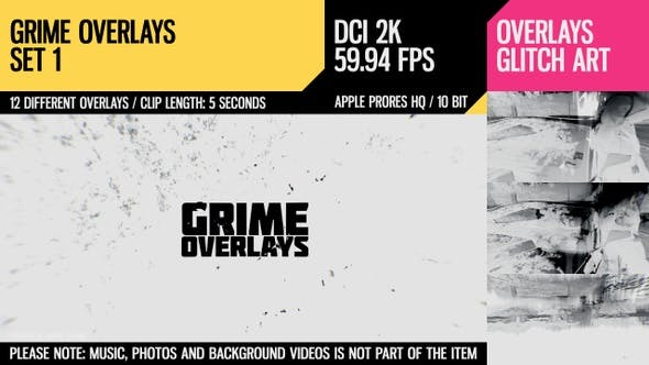 Thumbnail for Grime Overlays (2K Set 1)